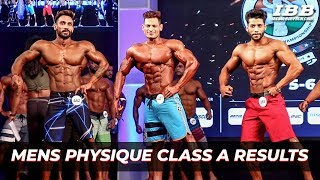Men's Physique Category A Results IHFF Sheru Classic Pro Qualifier Series 2019