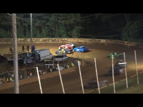 Stock 4b at Winder Barrow Speedway June 5th 2021 - dirt track racing video image