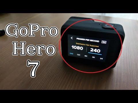 GoPro Hero 7 Black Slow Motion Tutorial & Settings | 4K60 & 1080p240