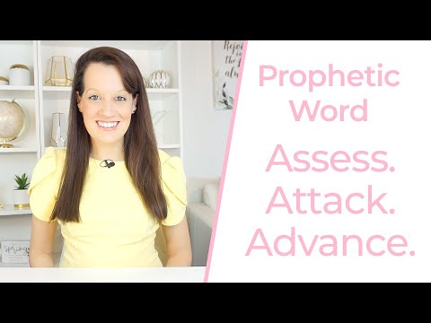 Prophetic Word -It's Time to Assess, Attack and Advance!