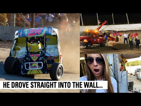 Bad Luck Hit HARD At Lebanon Valley Speedway - dirt track racing video image