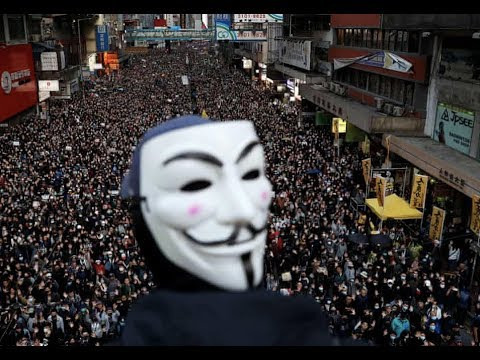 Breaking Hong Kong Mammoth Rally 1,000,000 People