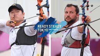 Lee Seungyun v Pierre Plihon – recurve men quarterfinal | Tokyo 2020 Olympic Test