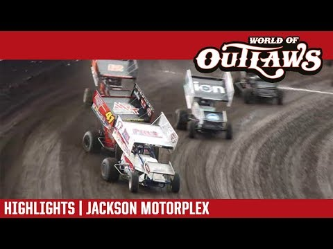 World of Outlaws Craftsman Sprint Car Series Feature Event Highlights from the Jackson Motorplex in Jackson, Minnesota on June 9th, 2018!  For more information and full results: www.woosprint.com For extended race highlights: www.DIRTVision.com - dirt track racing video image