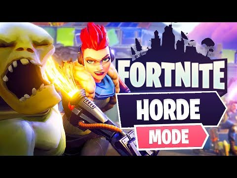 New Fortnite Horde Game Mode! (Fortnite Save The World) - UC2wKfjlioOCLP4xQMOWNcgg