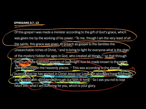 Ephesians 3:713 // Part 8 // Confident Access to God in Christ