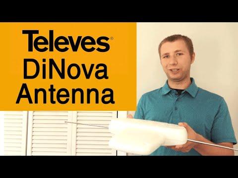 Televes DiNova Boss Mix Amplified Outdoor HD TV Antenna