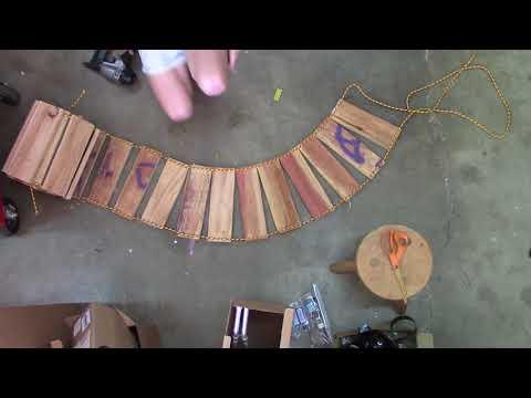 Building a 12 FOOT ROPE BRIDGE For the Backyard Crawler Course - UCg0srMfOKG08UUCySPeme3Q