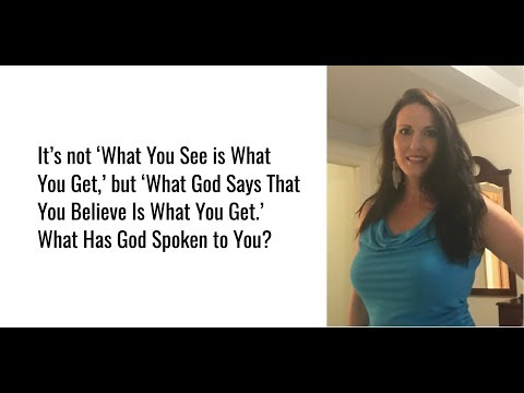 What Has God Spoken to You?
