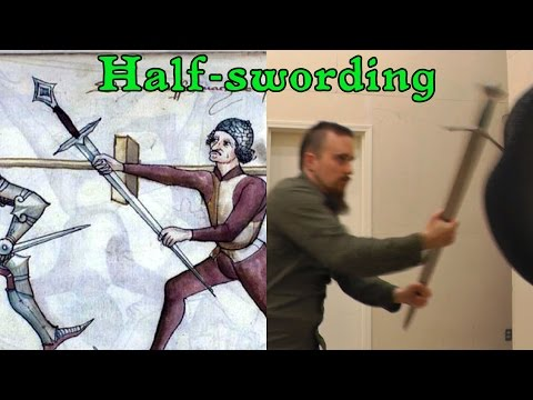 Half-swording - Why grabbing a sharp blade in a sword fight is not crazy - UC3WIohkLkH4GFoMrrWVZZFA