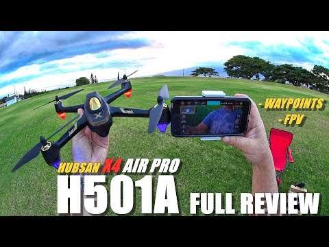 HUBSAN H501A X4 AIR PRO Waypoints FPV Drone - Full Review - [Unboxing, Flight Test, Pros & Cons👌] - UCVQWy-DTLpRqnuA17WZkjRQ