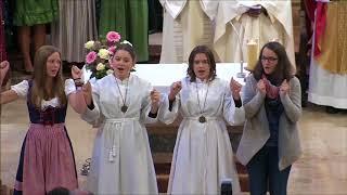Video von der Eröffnungsfeier der neurenovierten Pfarrkirche