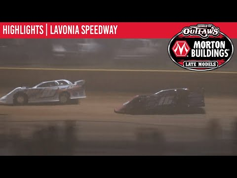 World of Outlaws Morton Building Late Models at Lavonia Speedway September 3, 2021 | HIGHLIGHTS - dirt track racing video image