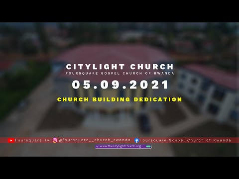 SPEECH OF BISHOP DR. FIDELE MASENGO  CHURCH DEDICATION  BUILDING WITH PURPOSE AND RESPONSIBILITIES