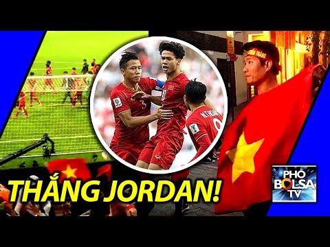 Việt Nam thắng Jordan vòng loại trực tiếp Asia Cup 2019: Niềm vui từ Dubai