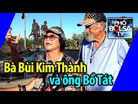Bà Bùi Kim Thành và người đàn ông Mỹ được gọi là Bồ Tát
