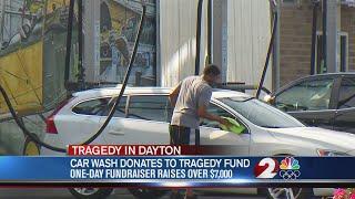 Car wash raises thousands for victim fund