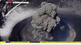 Popocatépetl volcano erupts again (6) (Mexico) - Sky News - 29th July 2019