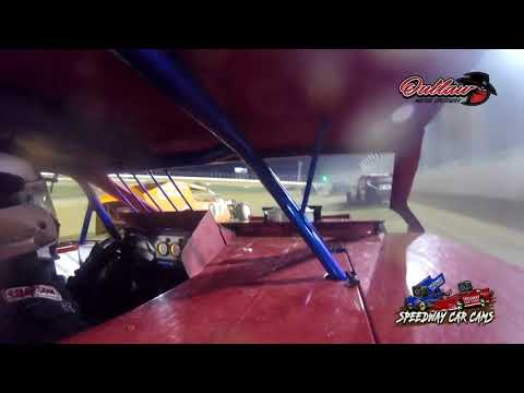 #17 Lance Drieth - USRA B Modified - 10-16-2021 Outlaw Motor Speedway - In Car Camera - dirt track racing video image