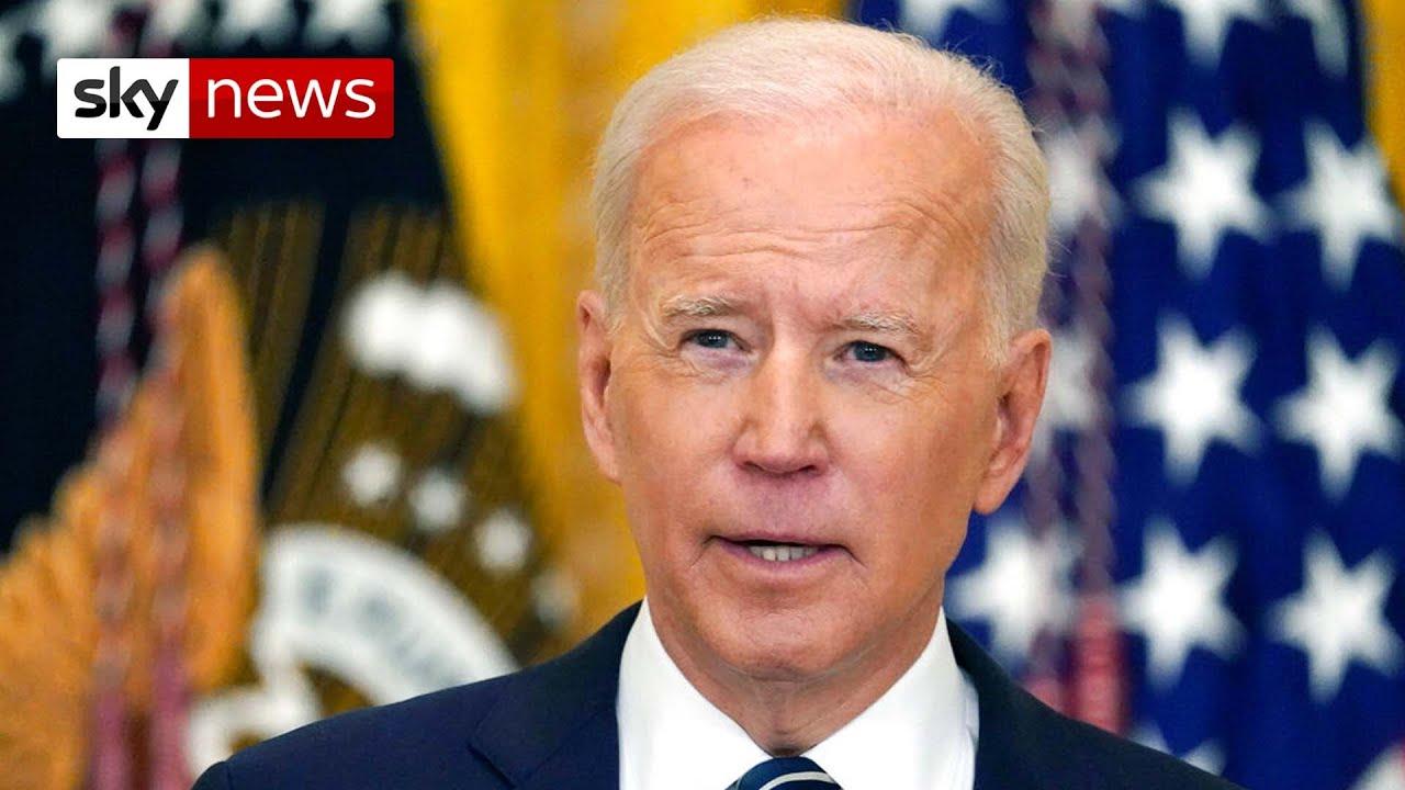 President Biden promises 200 million COVID jabs in his first 100 days