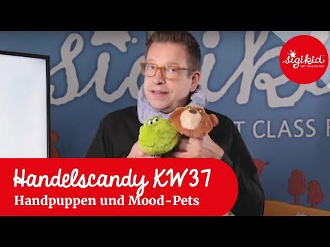 Schnuffeltuch-Handspielpuppen und Mood-Pets