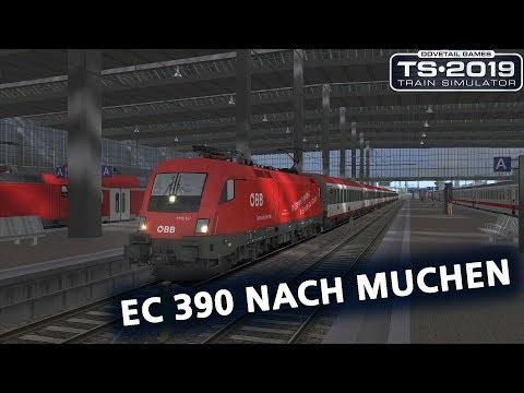 Train Simulator 2019: Rosenheim to München, OEBB Taurus 1116 197 'Technische Services'
