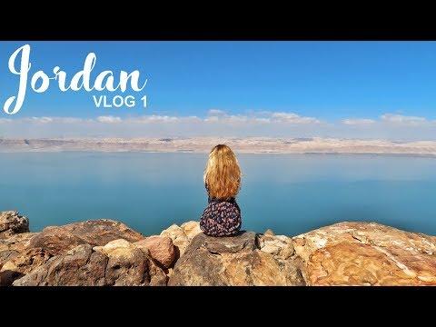 Jordan: Dead Sea, Karak, Little Petra | Road Trip Vlog 01