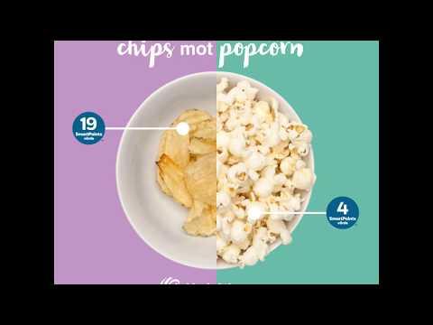 Gör smarta val med ViktVäktarna! Popcorn eller chips?