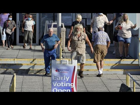 US elections: High numbers of Americans turn out for early voting
