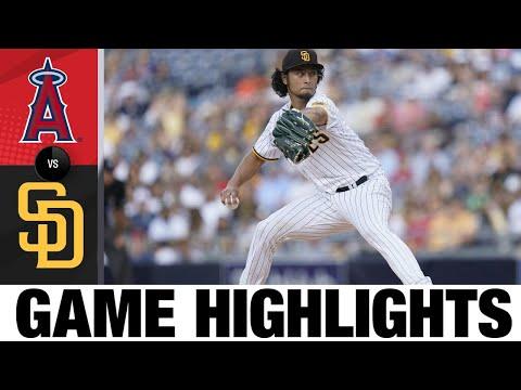 Angels vs. Padres Highlights (9/8/21) | MLB Highlights