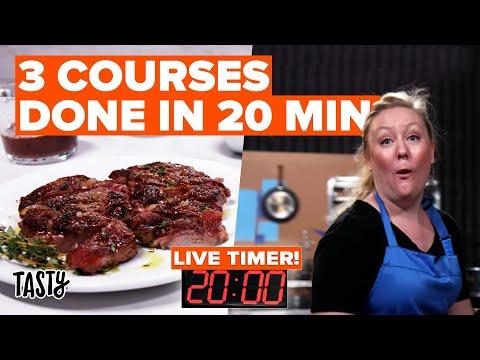 20-Minute Meals Challenge: Steakhouse Dinner ? Tasty