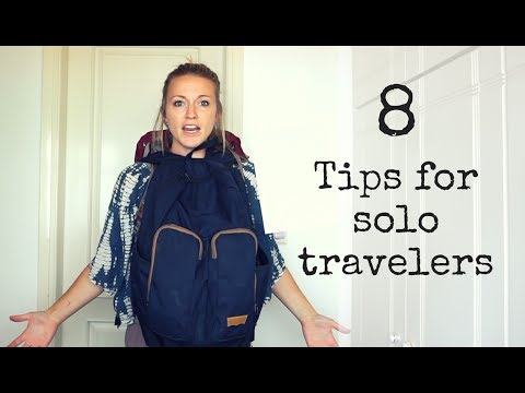 8 Tips for Solo Travelers - UC4RobiwT0rKJZKdqwSr6AXA