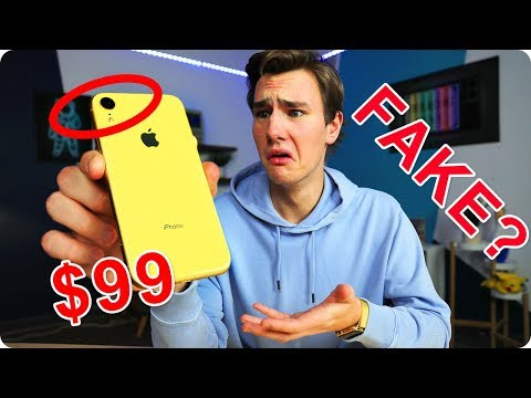 $99 Fake iPhone XR - How Bad Is It? - UCpT9kL2Eba91BB9CK6wJ4Pg