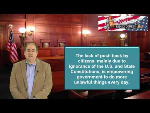 Lawless Family Courts: Equity Courts are Still Subject to the U.S. Constitution IF YOU KNOW . . .