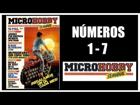 REVISTA MICROHOBBY COMENTADA | Numeros 1 al 7