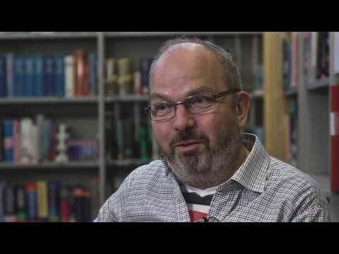 Göran Blomqvist forskar om vinterväghållning av cykelvägar