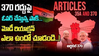 PM Narendra Modi React In ARTICAL 370 about  Jammu & Kashmir  | Myra Media |
