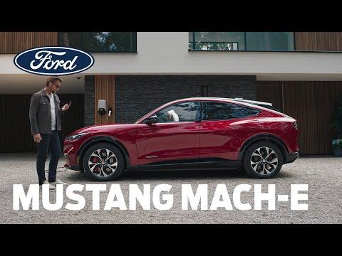 Mustang Mach-E   Konektivita a technologie   Ford Česká republika