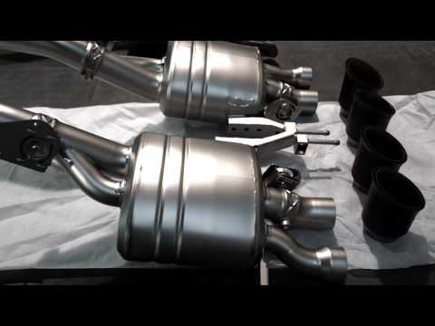 Chevrolet Corvette Stingray with exhaust Akrapovic By BR-Performance