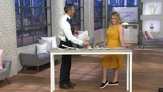 Vionic Perforated Suede Slip-Ons - Malina on QVC