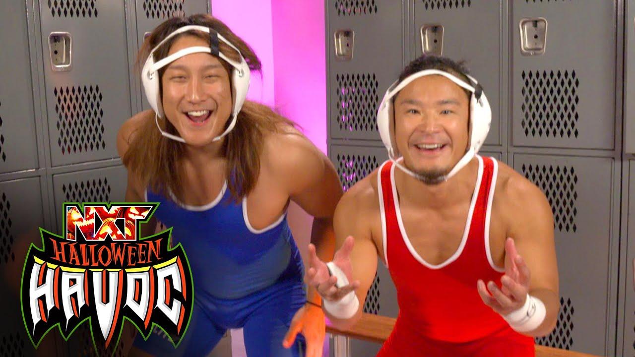 Kushida and Ikemen Jiro really don't like The Creed Brothers: WWE Digital Exclusive, Oct. 26, 2021