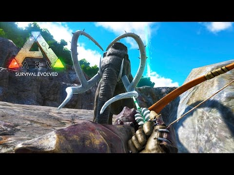 ARK: Survival Evolved - TAMING A MAMMOTH & ANKYLOSAURUS DINOSAURS! (ARK: Survival Evolved Gameplay) - UC2wKfjlioOCLP4xQMOWNcgg