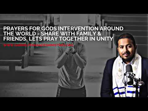 SPECIAL PRAYERS FOR GOD'S INTERVENTION AROUND THE WORLD   CONNECT IN FAITH