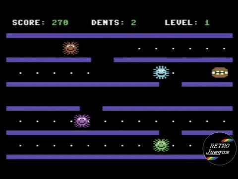 RETROJuegos Homebrew ... COVIDBREAKER © 2020 Naufr4go para Commodore 64