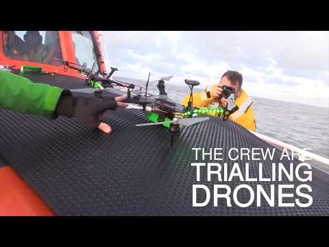 Drones used in Caister lifeboat world first - UCMzCnHjUSX6cfu7LnhAB7IQ