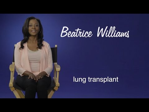 Beatrice Williams: Thanks to my double lung transplant, I can breathe again.