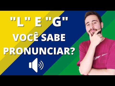A pronúncia das letras L e G em português | Vou Aprender Português