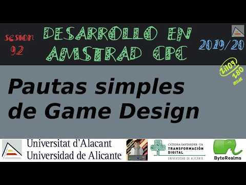 Pautas simples de Game Design