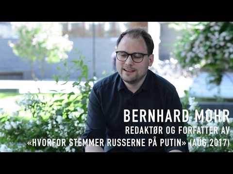 Redaktør og forfatter Bernhard Mohr anbefaler 3 bøker fra Russland