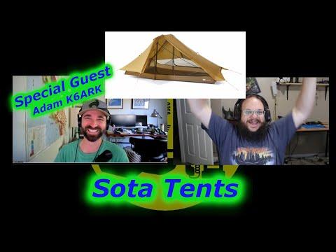 Adam helps me understand tents for my Next SOTA trip